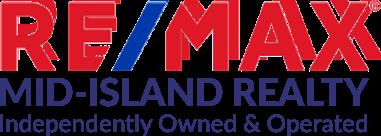RE/MAX Mid-Island Realty Logo